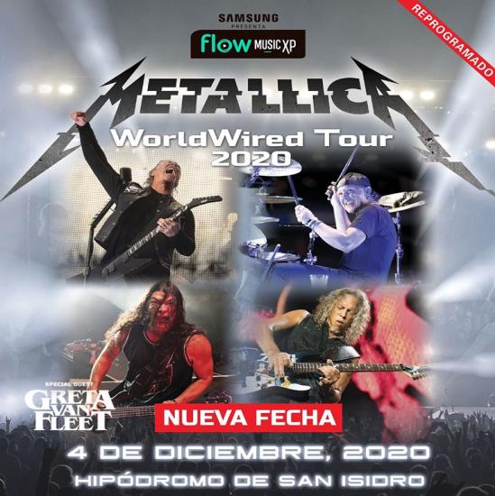 Metallica reprogramado - slide - OYR