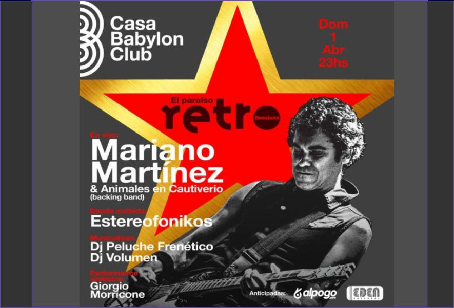 El Paraíso Retro (sessions)