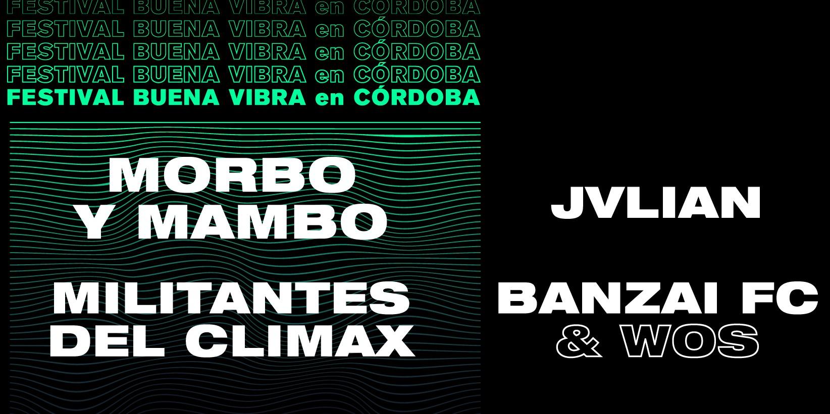 El Festival Buena Vibra en Córdoba