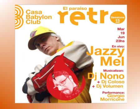 Jazzy Mel Casa Babylon Club OtrasYerbasRock