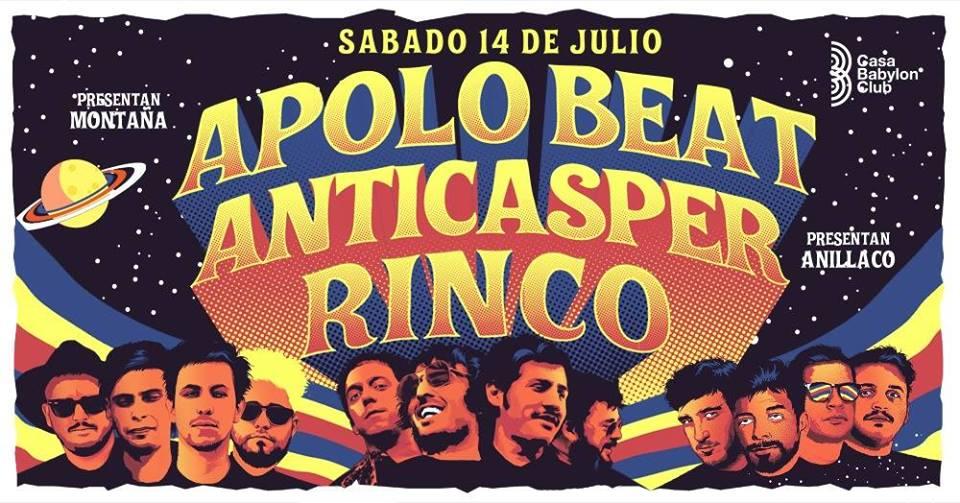 Anticasper - Apolo Beat - Rinco - OtrasYerbasRock