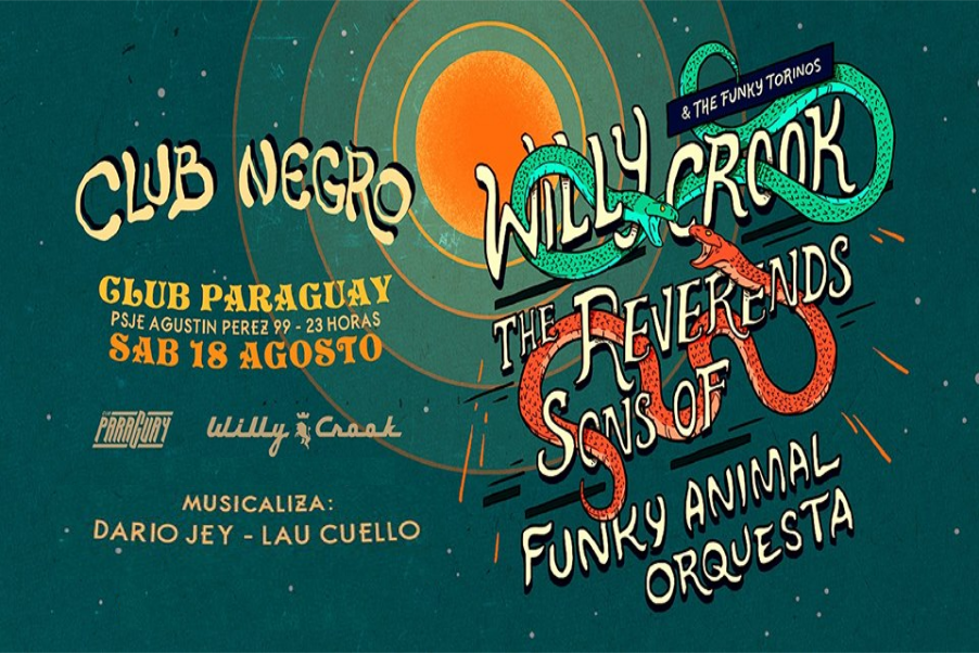 Club Negro: Willy Crook, The Reverends Sons Of, FAO