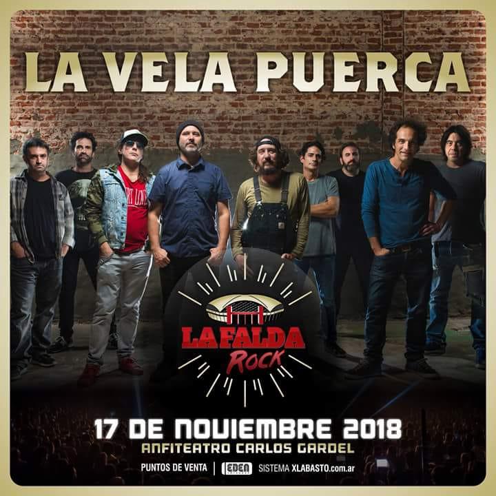 5be731990 La Vela Puerca en La Falda 2018 - Otras Yerbas RockOtras Yerbas Rock