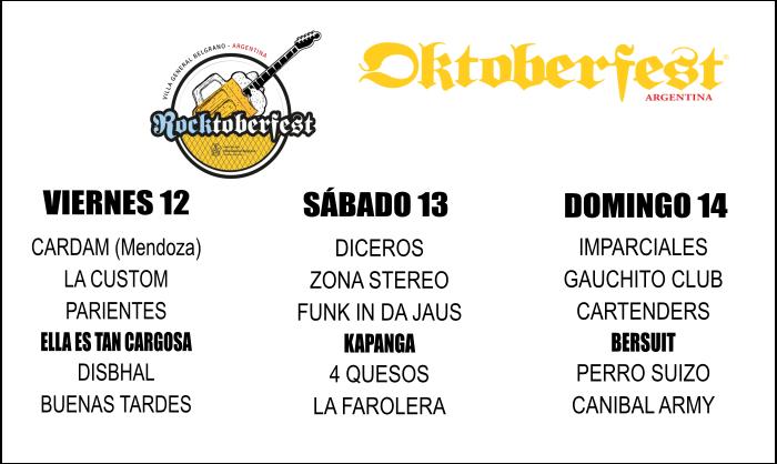 Grilla Rocktoberfest - OYR