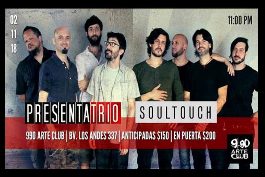 PRESENTA TRIO Y SOUL TOUCH