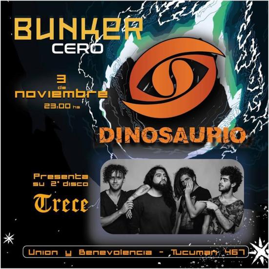 Dinosaurio - Bunker Cero - OYR