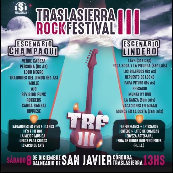 Traslasierra Rock Festival Vol III - OYR