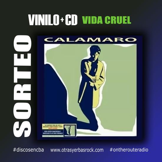 Sorteo Vinilo y CD Vida Cruel - OYR