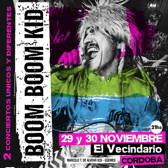 Boom Boom Kid - slide - OYR