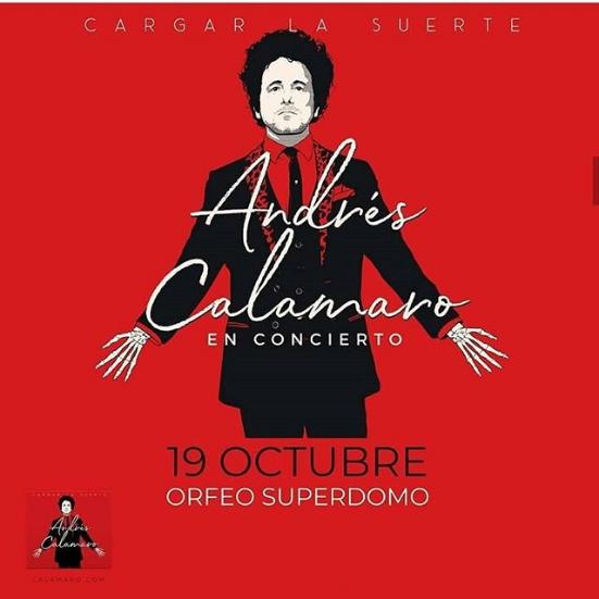 Andrés Calamaro en Orfeo - OYR