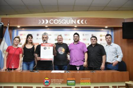 Cosquín Rock El Homenaje - firma de convenio - OYR