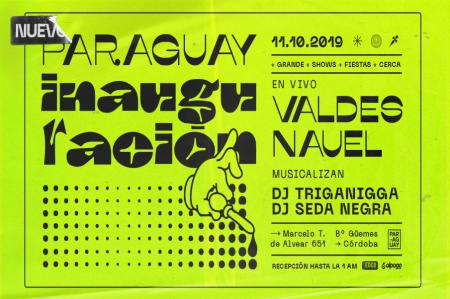 Nuevo Club Paraguay - inauguración - OYR