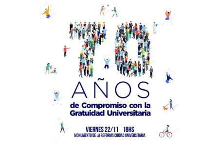 Festival 70 años Gratuidad Universitaria - OYR