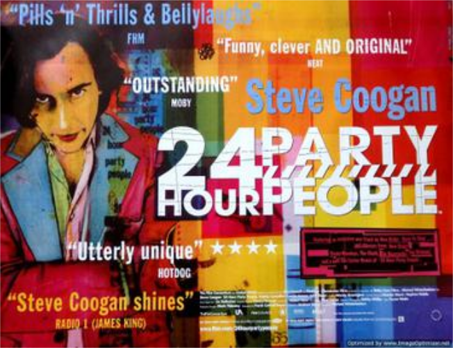 Poster 24th Hour Party People - OYR