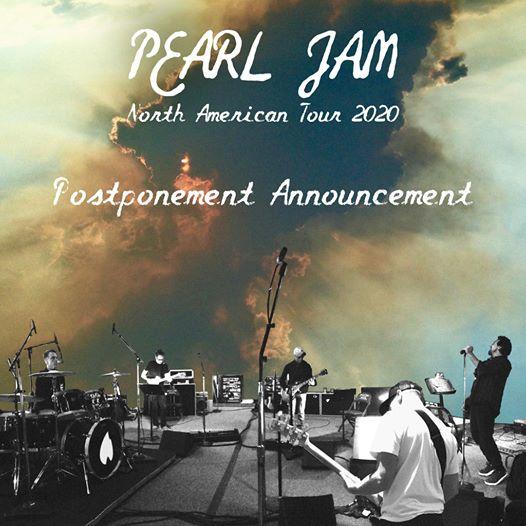 Gira Pearl Jam pospuesta - OYR