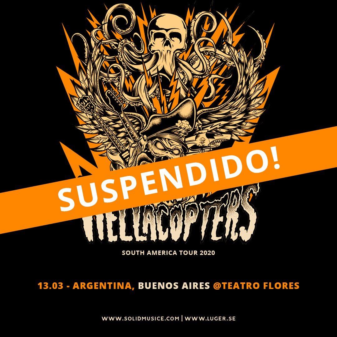 The Hellacopters- suspendido - OYR