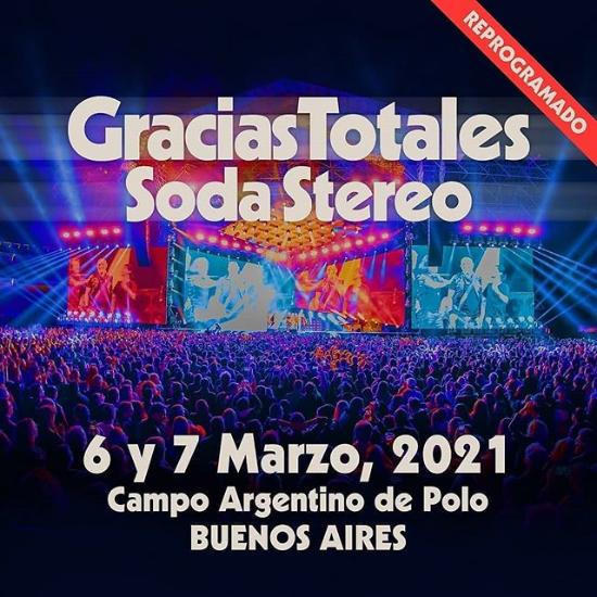 Gracias Totales Soda Stereo - reprogramado - OYR