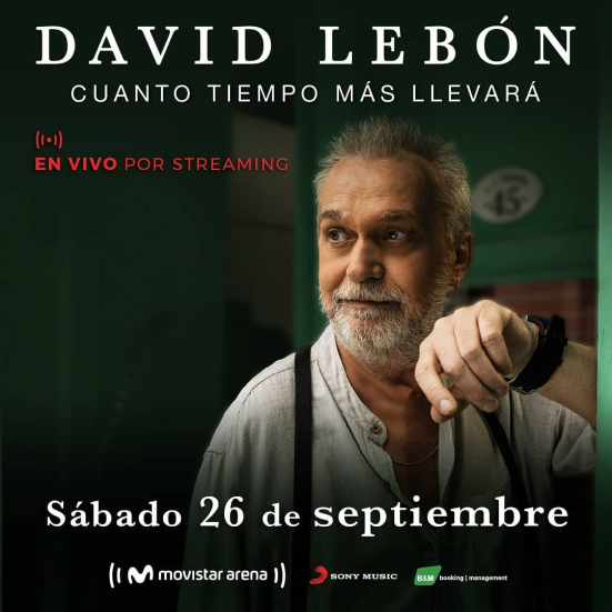 David Lebón - Movistar Arena - OYR