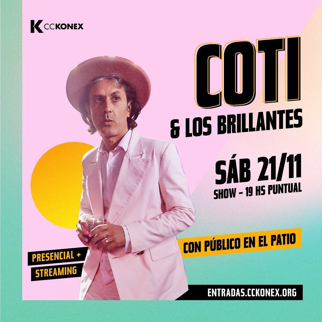 Coti en CC Konex - OYR