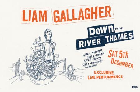 Liam Gallagher - Down River Thames - OYR