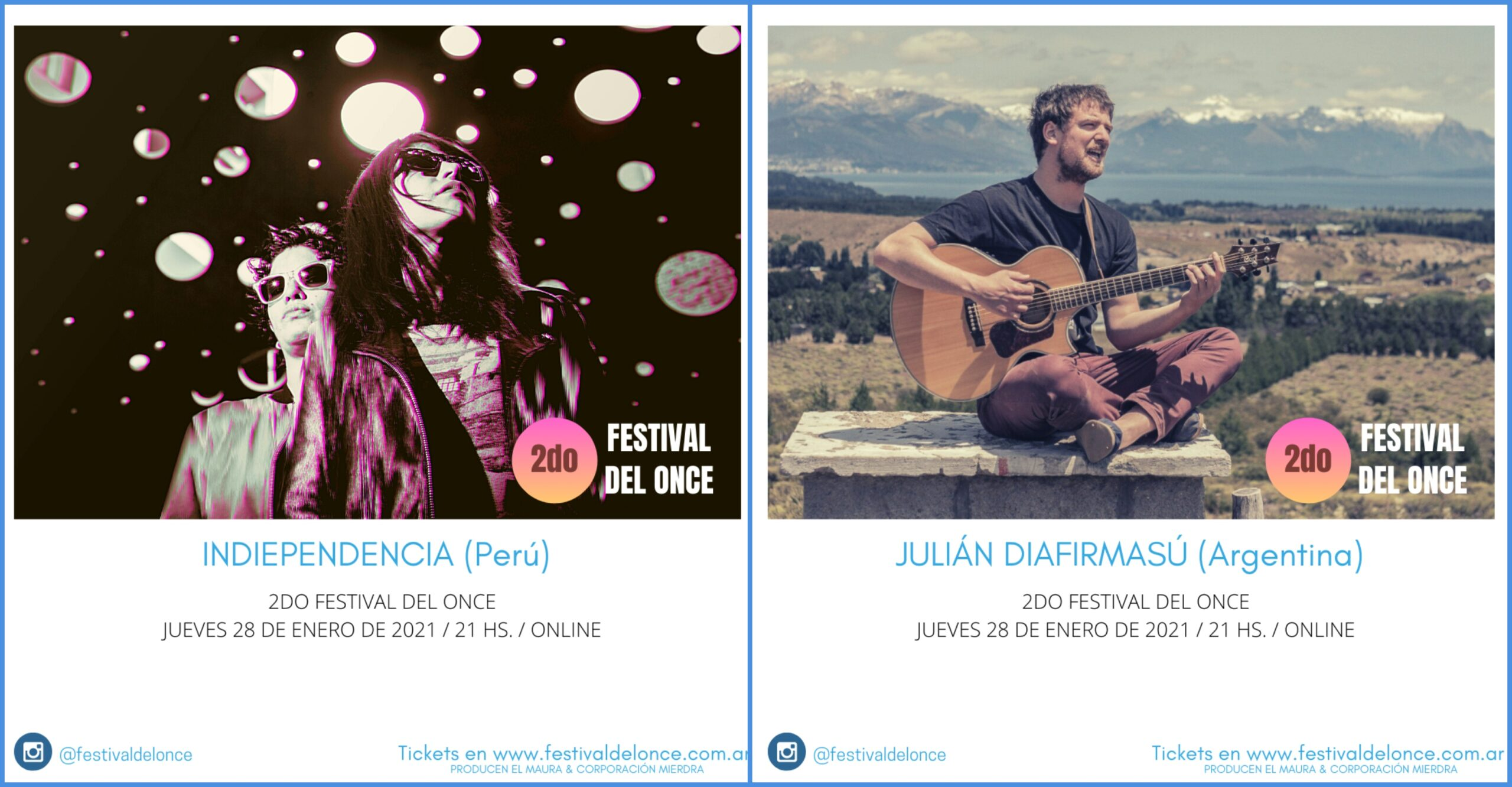 Festival del Once - Indiependencia - Julián Diafirmasú - OYR