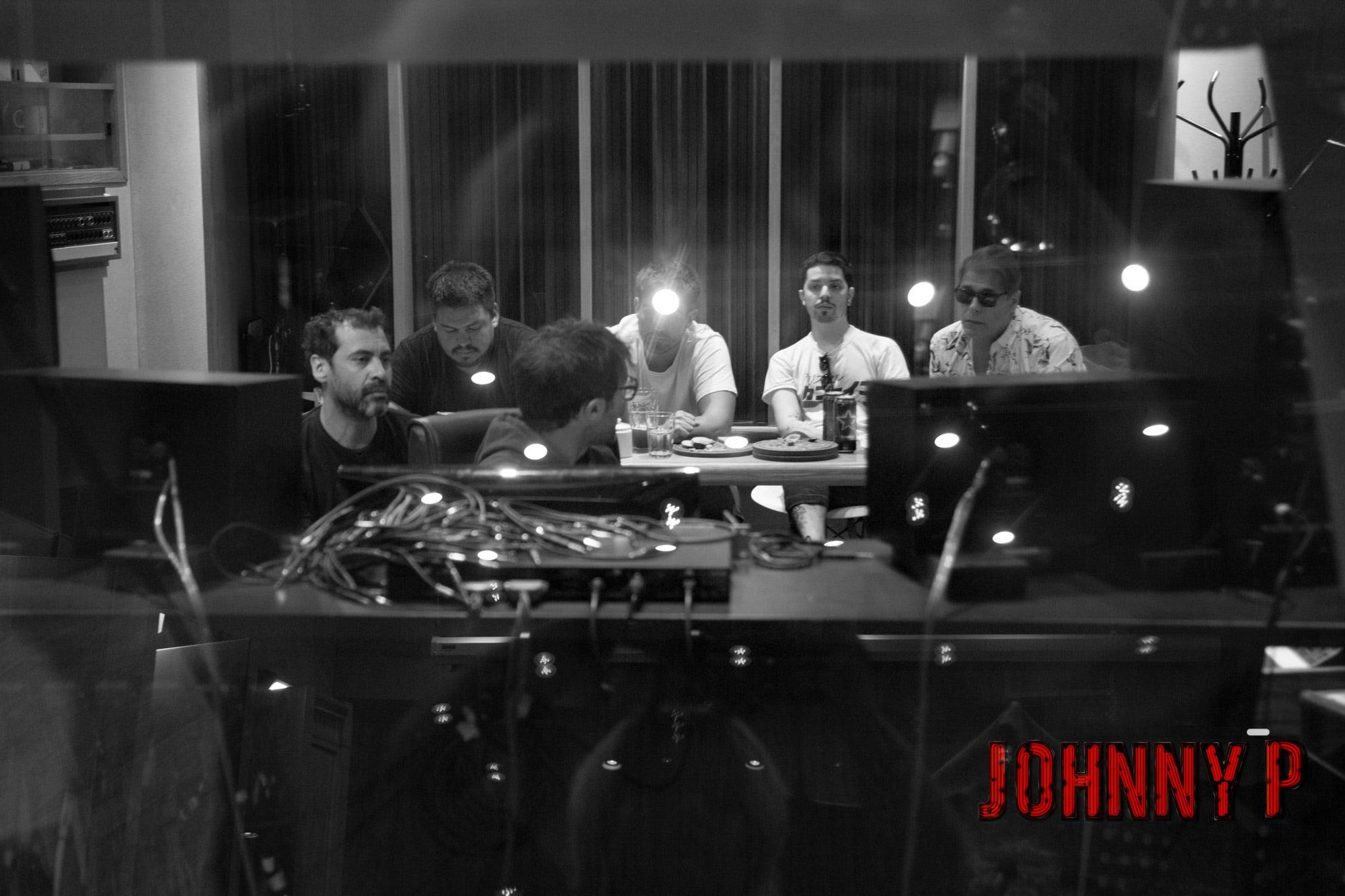 Johnny P en estudio - OYR