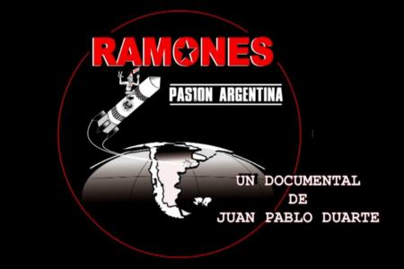 Ramones Pasión Argentina - portada - OYR