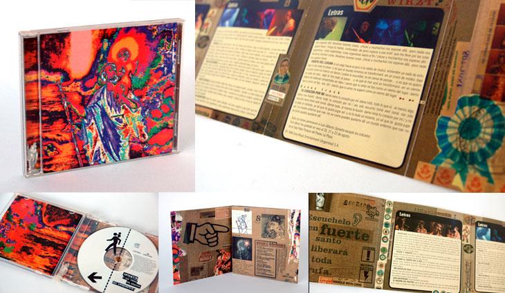 Tapa disco Spinetta - diseño Cambariere - OYR