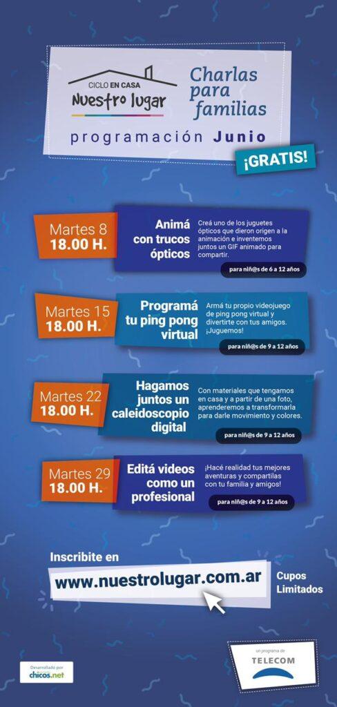 Actividades - Telecom - Programa Nuestro Lugar - OYR