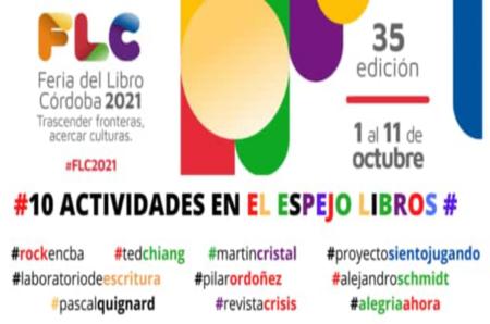 El Espejo Libros - Feria del Libro - portada - OYR