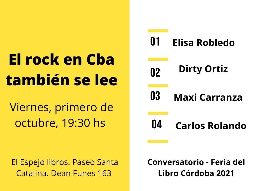 Flyer - El Rock en Córdoba también se lee - OYR